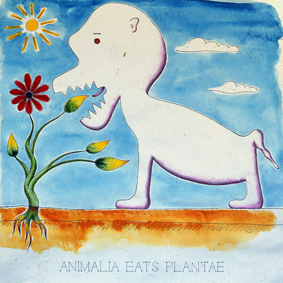 Drawings & Paintings - The Food Chain - 06 - Animalia Eats Plantae
